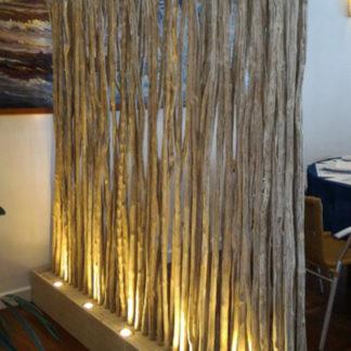 Lampe - Lampadère en Caféier